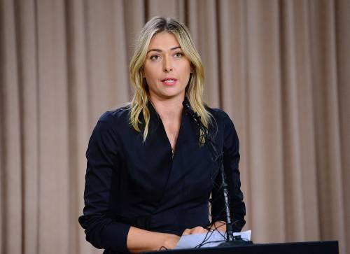 Doping, la Nike sospende contratto con Sharapova