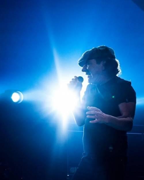 AC/DC, seriamente a rischio l'udito di Brian Johnson: foto 14