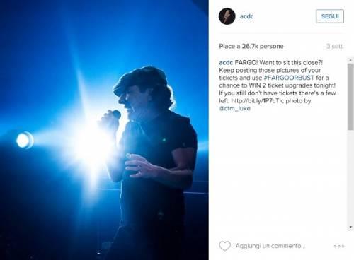 AC/DC, seriamente a rischio l'udito di Brian Johnson: foto 15