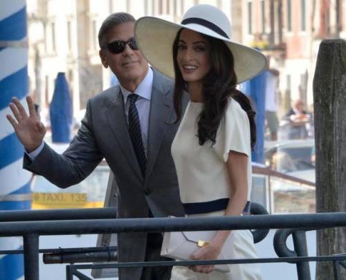 Amal Alamuddin: icona di stile al fianco di George Clooney 5