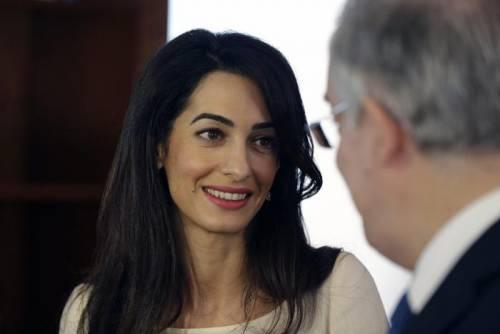 Amal Alamuddin: icona di stile al fianco di George Clooney 7