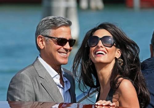 Amal Alamuddin: icona di stile al fianco di George Clooney 9