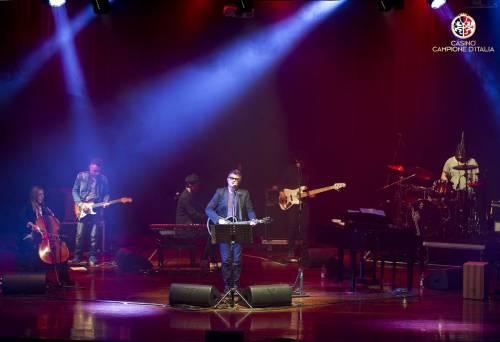 Il concerto di Ron al Casinò di Campione d'Italia 2