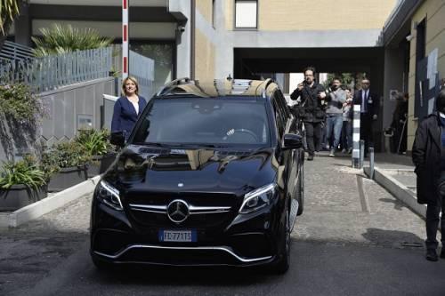 Francesco Totti e Ilary Blasi, primi scatti con la piccola Isabel: foto 3