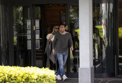 Francesco Totti e Ilary Blasi, primi scatti con la piccola Isabel: foto 14