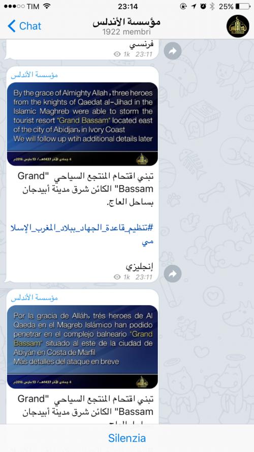 La guerra santa tra le chat cifrate di Telegram 2