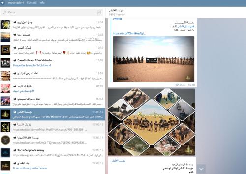 La guerra santa tra le chat cifrate di Telegram 3
