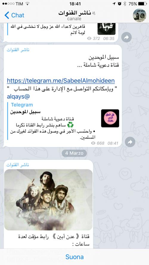 La guerra santa tra le chat cifrate di Telegram 6
