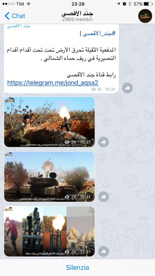 La guerra santa tra le chat cifrate di Telegram 5