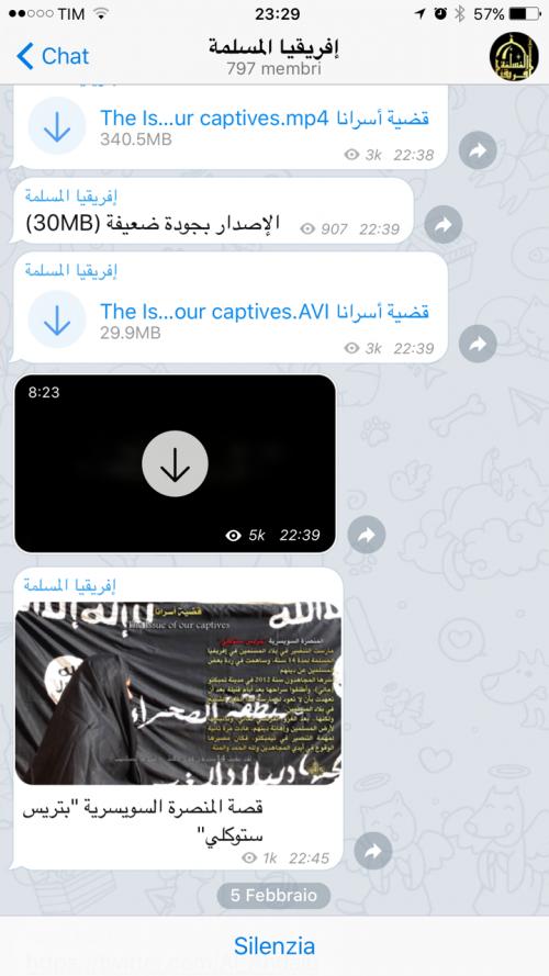La guerra santa tra le chat cifrate di Telegram 4