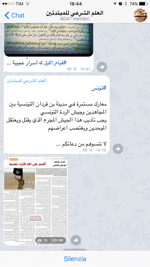 La guerra santa tra le chat cifrate di Telegram 7