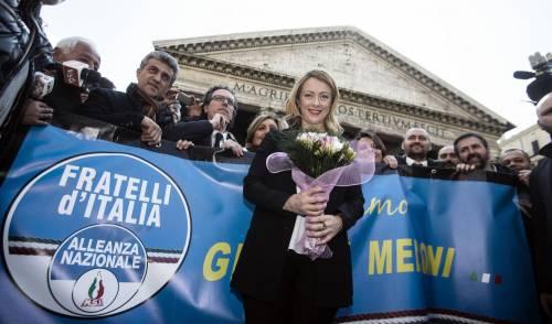 """Giorgia Meloni si candida a Roma: """"Nessun uomo può dirmi cosa fare"""""""