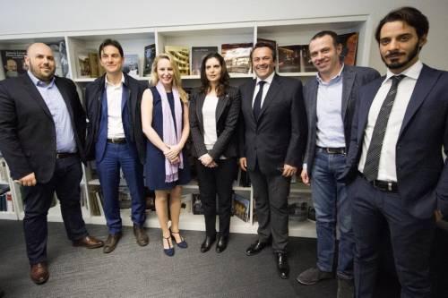 L'incontro tra Marion Le Pen e le istituzioni italiane 2