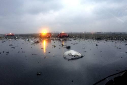 Russia, si schianta aereo proveniente da Dubai: 62 morti