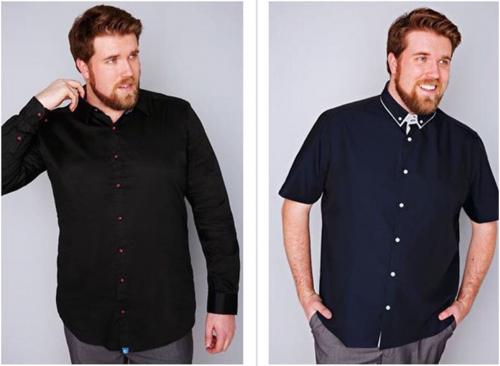 Il primo modello plus-size: Zach Miko 5