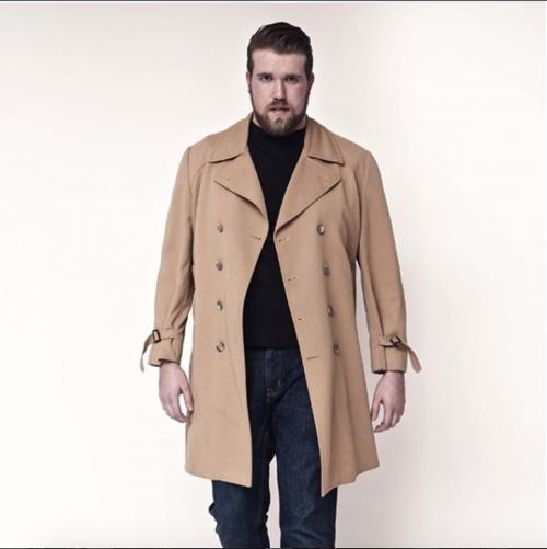 Il primo modello plus-size: Zach Miko 3