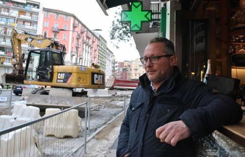 I lavori per la M4 di Milano 3