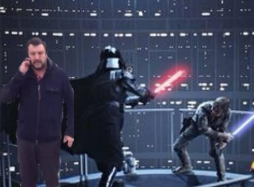 """Il """"meme"""" con Salvini 1"""