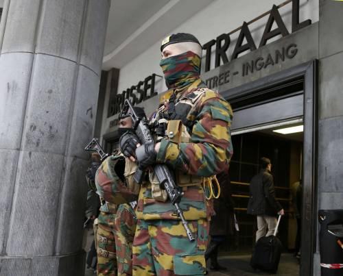 Bruxelles, allerta alla stazione 4