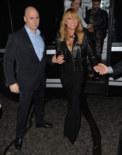 Mariah Carey nella tappa londinese del suo tour 6