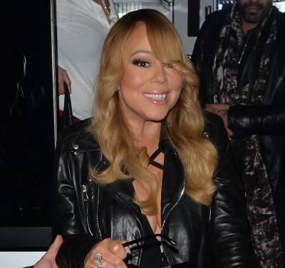 Mariah Carey nella tappa londinese del suo tour 4