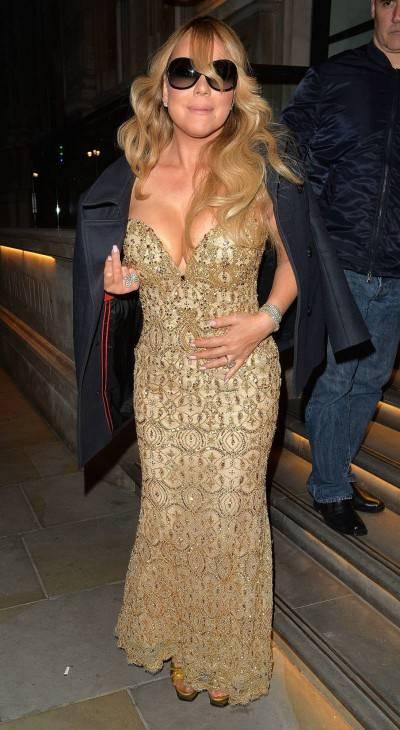 Mariah Carey nella tappa londinese del suo tour 5