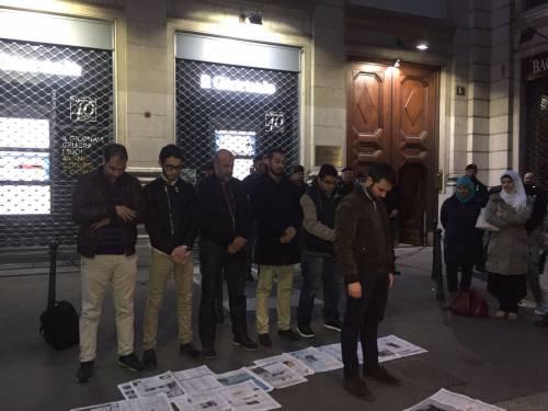 La protesta islamica sulle pagine de IlGiornale 3
