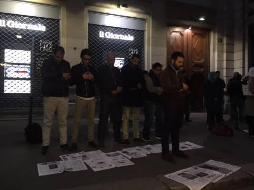 La protesta islamica sulle pagine de IlGiornale 2