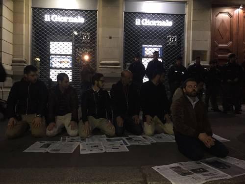 La protesta islamica sulle pagine de IlGiornale 6