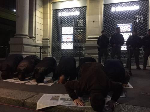 La protesta islamica sulle pagine de IlGiornale 4