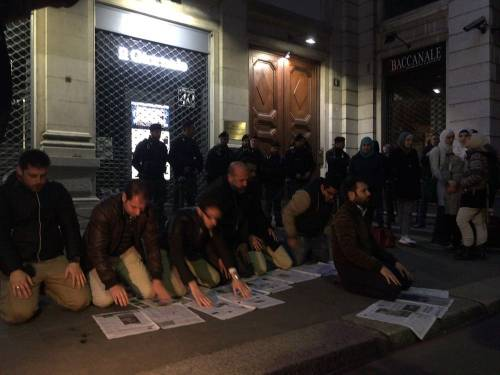 La protesta islamica sulle pagine de IlGiornale 5