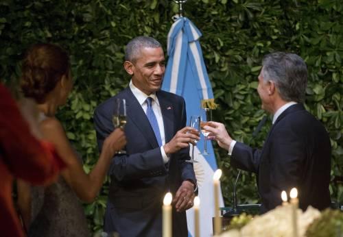 Obama balla il tango in Argentina 8