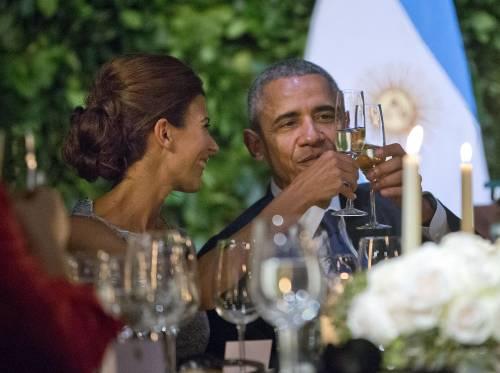 Obama balla il tango in Argentina 7