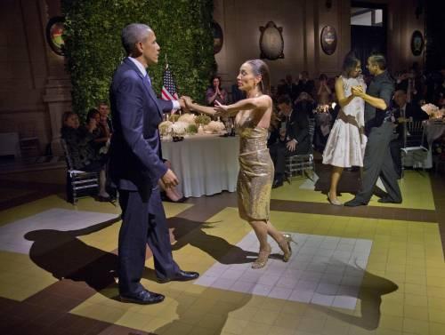 Obama balla il tango in Argentina 3