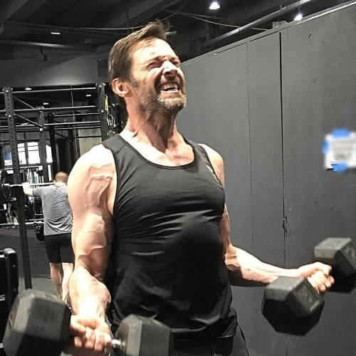 Hugh Jackman supereroe di celluloide, ma eroe in carne ed ossa 5
