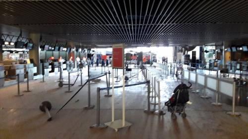 La devastazione a Zaventem dopo l'attentato jihadista 2