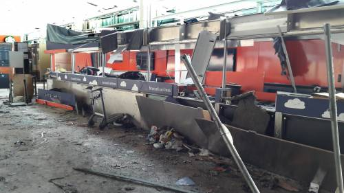 La devastazione a Zaventem dopo l'attentato jihadista 7
