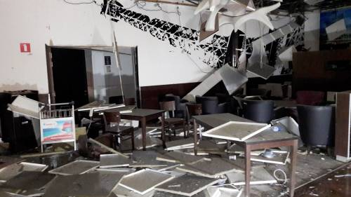 La devastazione a Zaventem dopo l'attentato jihadista 8