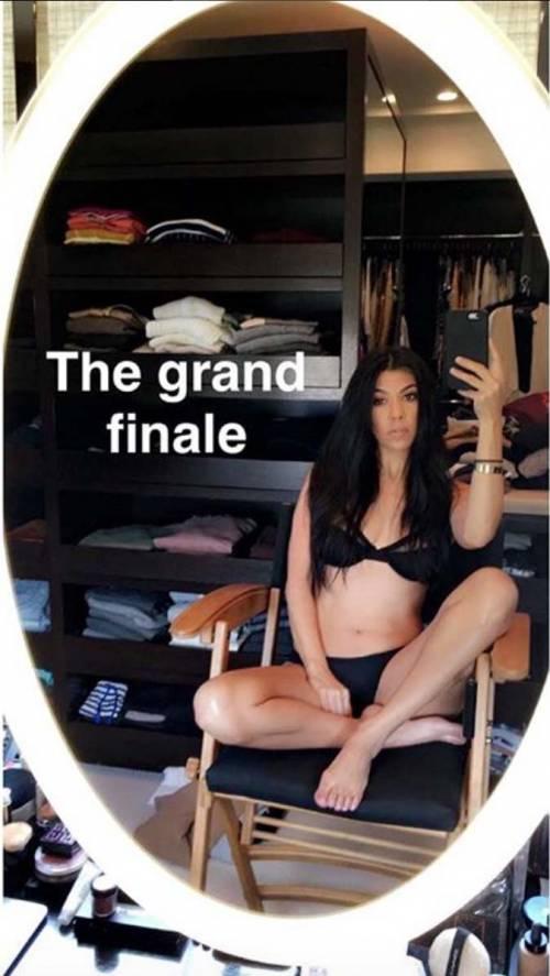 Kourtney Kardashian su Snapchat 2