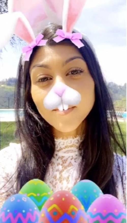 Kourtney Kardashian su Snapchat 9