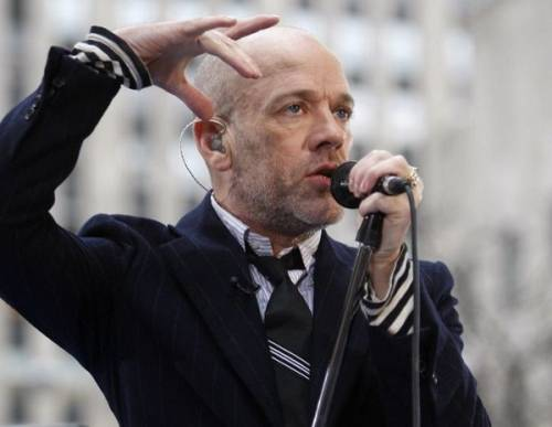 Michael Stipe, toccante omaggio a David Bowie: foto 8