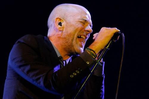 Michael Stipe, toccante omaggio a David Bowie: foto 15