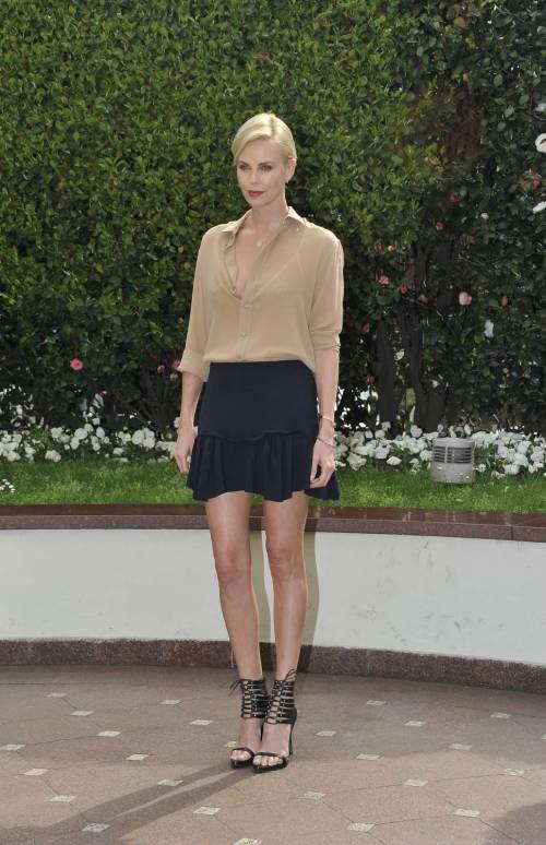 Charlize Theron presenta a Milano il suo nuovo film in uscita nelle sale il 6 aprile 10