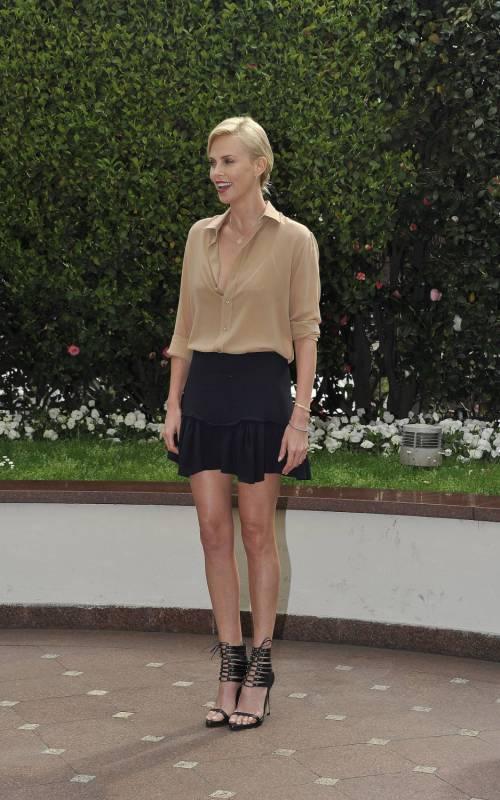 Charlize Theron presenta a Milano il suo nuovo film in uscita nelle sale il 6 aprile 8