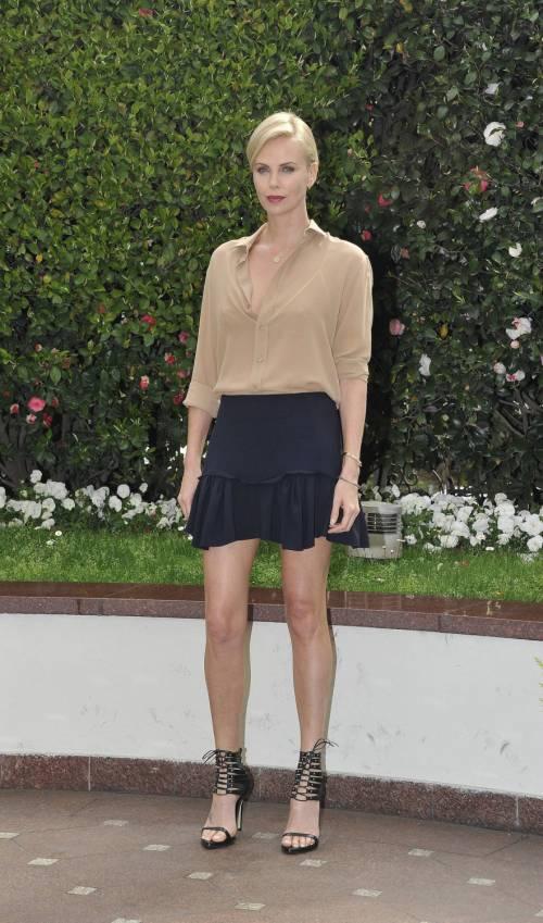 Charlize Theron presenta a Milano il suo nuovo film in uscita nelle sale il 6 aprile 2