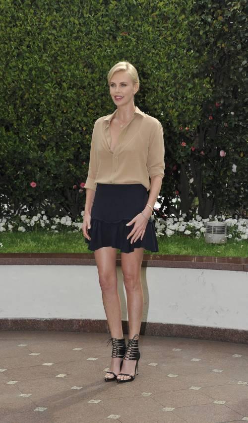 Charlize Theron presenta a Milano il suo nuovo film in uscita nelle sale il 6 aprile 14