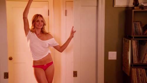 Cameron Diaz sexy al cinema 6