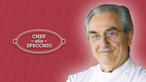 Gualtiero Marchesi ospite di Chef allo specchio