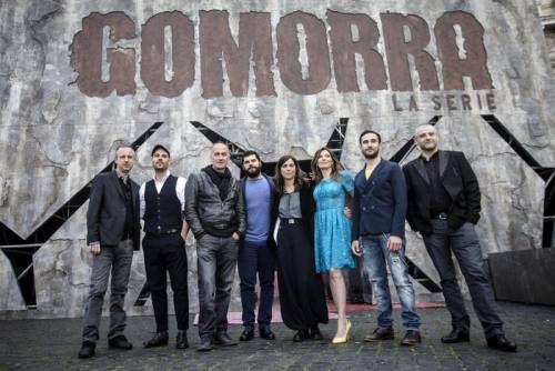 Cristina Donadio e la squadra di Gomorra - La Serie 10