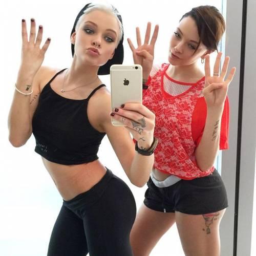 Le Donatella, Silvia Provvedi a seno nudo su Instagram 14
